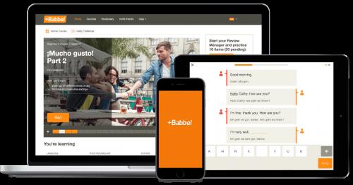 اپلیکیشن زبان Babbel