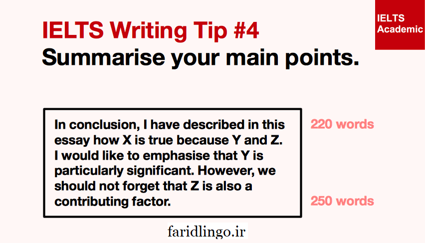 ielts writing tips